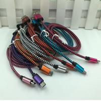 Fashion New 1F 3MT Round braided usb data cable 9 colours Fo...