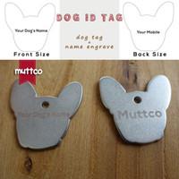 vente en gros de haute qualité kirsite auto-conception laser lettrage nom de l'animal de compagnie chien chien pointu id tag tailler vos chiens informations sur l'étiquette