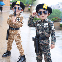 New Outdoor Airsoft Camouflage Kids Suit Military Tactical U...
