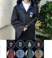 Free Shipping Harry Potter Cosplay Hogwarts Robe Cloak Gryff...
