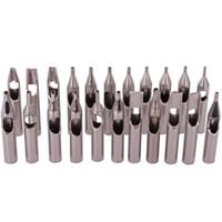 Kit di punte del tatuaggio dell'acciaio inossidabile all'ingrosso 22PCS 304 punte del tatuaggio Set di mix per aghi per tatuaggio Accessori