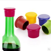 Wine Beer Cap 5colors Fashion Creative Home Silicone Wine Be...