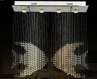 nuova Novetly illuminazione moderna lampadario di cristallo lampada a sospensione lustro sala da pranzo lampadario LLFA