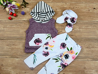 baby fashion European & American hoodies+ long pant 2pcs set ...