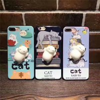New Cute Cartoon Cases Soft TPU phone Case For iPhone 7 6 6s...