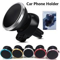 50 pçs / lote titular do telefone do carro universal shakable magnetic stander telefone móvel para iphone samsung xiaomi air outlet mini livre dhl