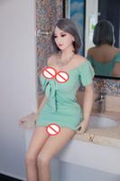 Erkekler Tüm Vücut Gerçek Aşk Doll Şişme Yarı katı silikon bebek Gerçekçi Meme Vajina Anal Seks Oyuncakları için Seks bebekleri