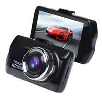 Il veicolo Blackbox dell'automobile DVR DVR pieno HD registratore digitale a 3,0 pollici IPS Panel 1080P con G-SENSOR USB TF Card DHL libero