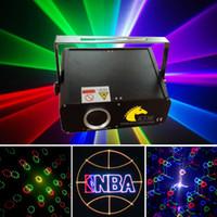 laser 300MW RGB con fuegos artificiales haz de luz tarjeta SD luz láser para dj / partido / iluminación de vacaciones / iluminación de Navidad