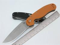 Ontario RAT 1 Taktik Katlanır Bıçak AUS-8 G10 Kolu Açık Kamp Avcılık Survival Pocket Knife Askeri Yardımcı EDC Koleksiyonu Hediye