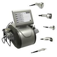 Professional 5 в 1 Ультразвуковая кавитация РЧ радиочастотный биполярный триполярный 8 Polar RF Ультразвуковая кавитация для похудения
