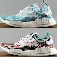 Very popular newest nice women mens NMD R1 W camo Outdoor Sh...