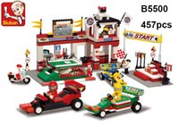 sluban formula racing car F1 developmental Building Block Se...