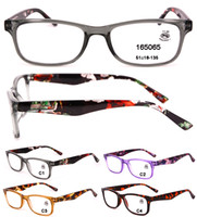 여성을위한 도매 라이트 독서 안경 남자는 고품질의 저렴한 플라스틱 읽기 안경 패션 빈티지 읽기 안경 강도 1.00 ~ 3.50