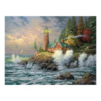 Landscape Oil Painting Prints on Canvas Wall Art Picture for Living Room Home Decorations Unframed HD-12053