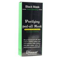 Free shipping Black Suction Mask Anti-Aging 50ml SHILLS Deep Cleansing purifying peel off Black face mask Remove blackhead Peel Masks