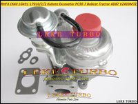 Turbocompresseur RHF3 CK40 VA410164 VD410096 1G491-17010 1G491-17012 Turbo Pour Kubota PC56-7 Bobcat Tracteur 4D87 V2403-M-T-Z3B