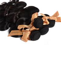 Prodotti per capelli moka 3.5 oz / pz 3 pz / lotto onda brasiliana estensioni dei capelli vergini all'ingrosso colore naturale groviglio libero