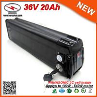 Sin estudio del impuesto peces de plata caja de 36V 20Ah de la batería de litio bicicleta eléctrica utilizada en 3C 18650 Las células con BMS 15A 2A Cargador