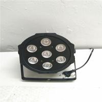 حار 7x12 واط أدى أضواء الاسمية rgbw 4in1 شقة الاسمية led dmx512 ديسكو أضواء المرحلة المهنية dj المعدات