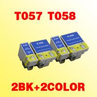 T057 T058 encre cartouches compatibles pour imprimante Epson Stylus ME1 ME1 + MA100