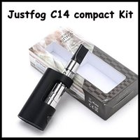 2017 Authentic Justfog C14 Compact Kit 900mAh Starter Kit wi...
