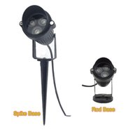 3W AC85- 265V 12V LED Garden Spike light Landscape Spot Light...