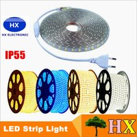 100M LOT 3528 SMD 60LED 220V led strip light RGB red yellow ...