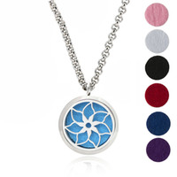 Essential Oil Diffuser Necklace Aromatherapy Jewelry- 30mm Hy...