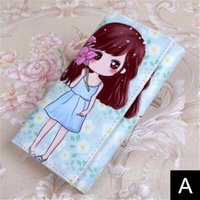 Lovely Cartoon Pattern Schoolchildren Girl Wallet Children 1...