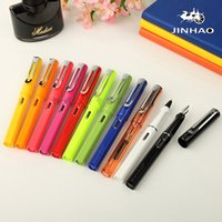 U Pick Jinhao 599 fountain Pen Business fashion Candy Color ...