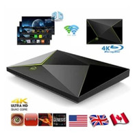 M9S Z8 2G 16G Amlogic S905x Quad Core Android 6.0 Smart TV Box 4K Mini PC 2.4GHZ + 5.8GHZ Haut-parleur Wifi Bluetooth HDMI