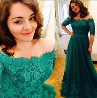 Платья матери изумрудно-зеленые вечерние платья с половиной рукава платья выпускного вечера вечерние платья халат де вечер 2018 мать невесты платье