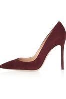 Zandina Ladies Handmade Fashion Brand scarpe a punta 100mm tacco alto Office Party Basic Shoes DarkRed