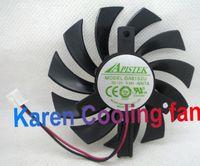 Ny Original Evea Onda Graphics Card Cooling Fan Apistek GA81S2U -NNTB DC12V 0.38A Diameter 75mm Pitch 40mm