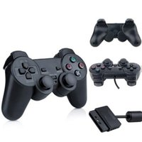 High Quality For PS2 Controller Wired Dual Vibration Joystic...