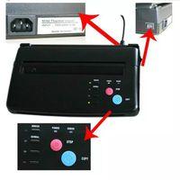 En gros Nouveau A4 Papier Transfert Noir Tatouage Copieur Thermique Stencil Copie Transfert Machine Hot Livraison Gratuite