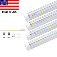 V- Shaped 4ft 5ft 6ft 8ft Cooler Door Led Tubes T8 Integrated...