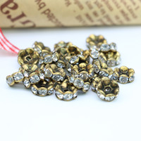 Large Space Brass BeadsLarge Space Brass Beads für DIY machen Strass Space Brass Beads Günstige Großhandels IA-Z3