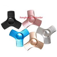 Factory Price Lead Hand Spinner EDC on Sale 3 Leaves Alumini...