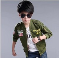 new ma1 boy american flag pattern coat aape jacket Children ...