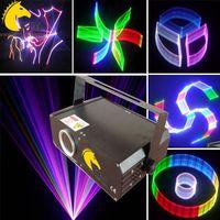 ILDA + 2D + 3D + SD láser de 500 mw RGB / software ishow gratuito en tarjeta SD / láser 3D / láser SD / iluminación de dj / iluminación de escenario / iluminación de fiesta