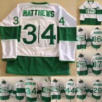 2019 토론토 St Pats 저지 Mens 16 Mitchell Marner 34 Auston Matthews 29 William Nylander 44 Morgan Rielly Hockey Jerseys 저렴한 믹스 주문