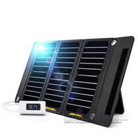 태양열 충전기 14W 21W 28W 휴대용 접는 태양 키트 청구 핸드폰 안드로이드 PowerBank GPS MP3 / 4 및 모든 5V 장치