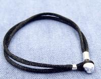 2017 новый браслет из ткани стерлингового серебра с застежкой сердца стерлингового серебра для европейских подвесок стиля и бисера в стиле Pandora