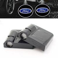 Lumières de bienvenue de logo de voiture de logo de voiture sans fil de lumière pour Ford Focus S-MAX Mondeo MK4 E350 E450 CF6000 7000