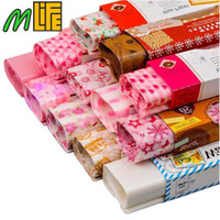 50 feuilles 21.8 * 25 cm Papier Ciré Emballage Alimentaire Cuisson Papier Savon Emballage Papier Alimentaire Sandwich Feuilles Fournitures D'événementiel