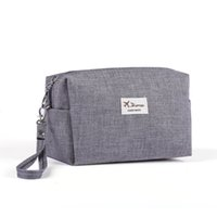 Wholesale- 2017 Korean Style Toiletry Bags Canvas Travel Cos...