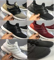 New arrive fashion black white Ultra Boost 4. 0 Running Shoes...