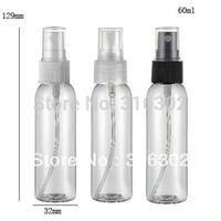 50 x 60 ml Haustier Klarer Kunststoff Sprühflaschen leer Nachfüllung 2 oz Nebelpumpe Parfümfahrten